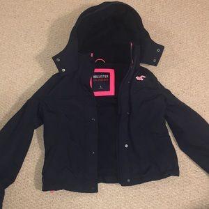 Hollister coat/ jacket